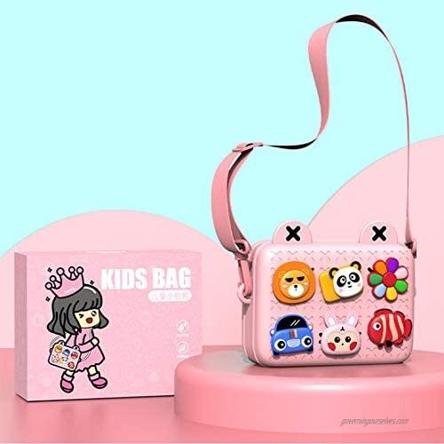 Kids Baby Toddler Purses for Little Girls Preschool Shoulder Bag Crossbody Handbags Messenger Bag DIY…