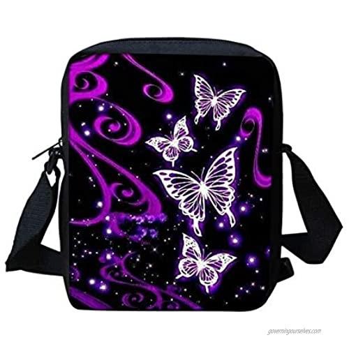 WELLFLYHOM Custom Small Cross Body Purse Shoulder Messenger Bag for Women Kids Phone Handbags