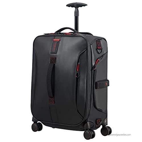 SAMSONITE Paradiver Light - Spinner Duffle Bag 55/20 Travel Duffle  55 cm  50 liters  Black