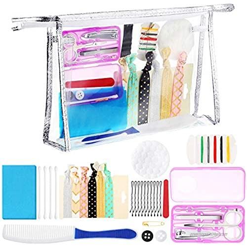Floral Wedding Survival Kit Wedding Day Emergency Kit Bridal Makeup Bag for Bride Bridal Shower Present Engagement Supply
