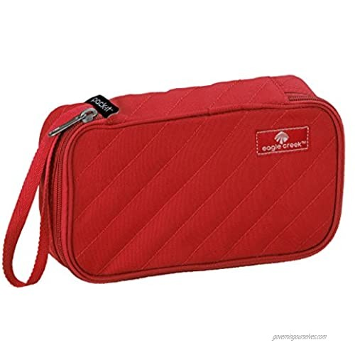 Eagle Creek Pack-it Original Quilted Quarter Cube-Extra Small  Red Fire  One Size