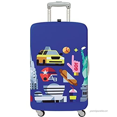 LOQI Hey Studio New-York Luggage Cover