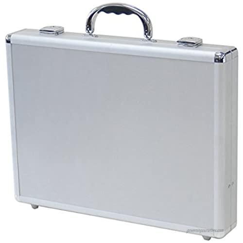 """T.Z. Case International T.z Aluminum Packaging Case  Silver  16 X 12 X 2-1/2""""  One Size"""