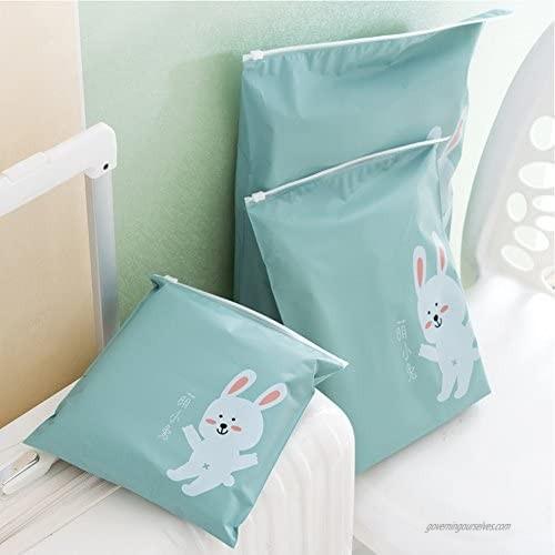Waterproof Rolling Packing Bag Luggage Travel Storage Space Saver(Duck set of 6)