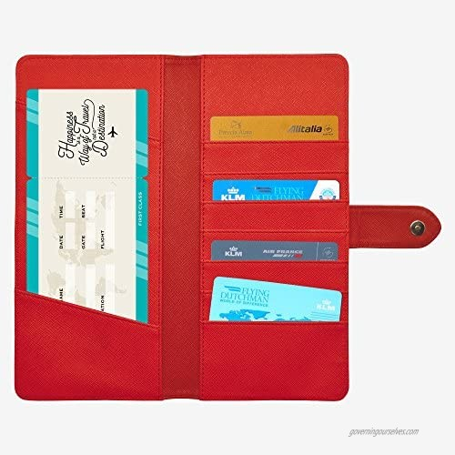Legami Passport Wallet red (red) - TO0025