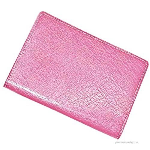 Natico Leather Passport Wallet Pink (60-8256-PK)