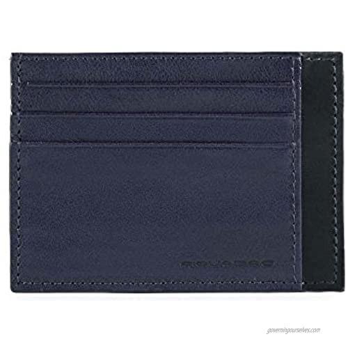 Piquadro Passport Wallet  Blue (Blu)  11cm