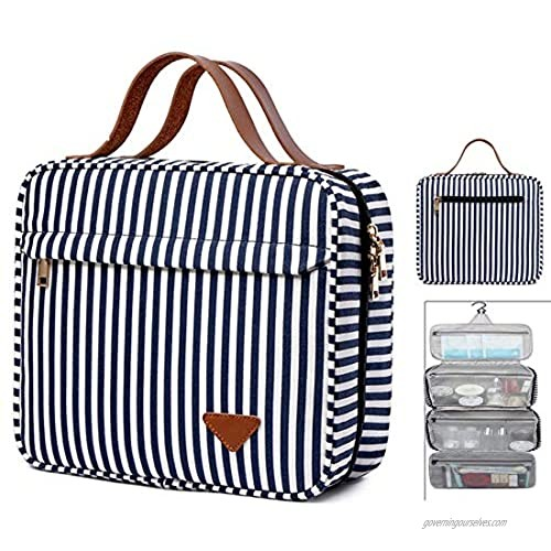 Hanging Travel Toiletry Bag for Women  Large Capacity Cosmetic Travel Toiletry Organizer with 360 Degrees Rotating Hook  Mother's Day