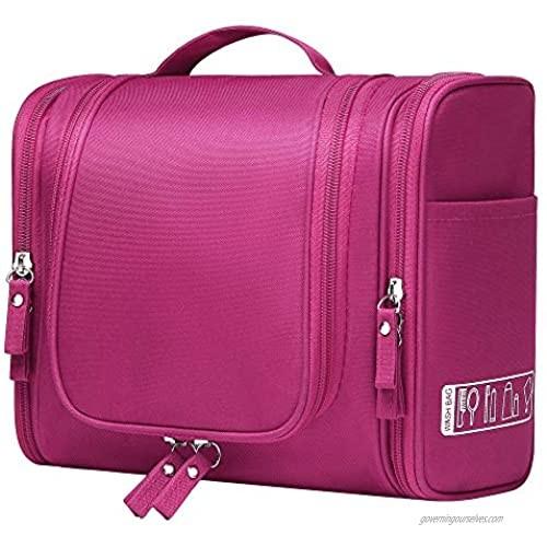 Hanging Travel Toiletry Bag for Women Makeup Organizer Kit Portable Travel Bag for Toiletries Cosmetics Bathroom Shower Hygiene Bag