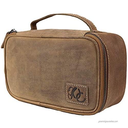 Leather Dopp Kit/Toiletry Bag By Urban Cowboy