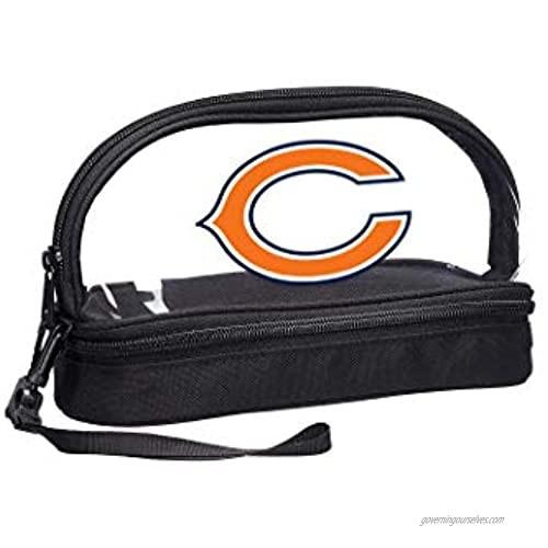 NFL Chicago Bears 2-Piece Travel Set 10.75 x 4.5 x 5.5
