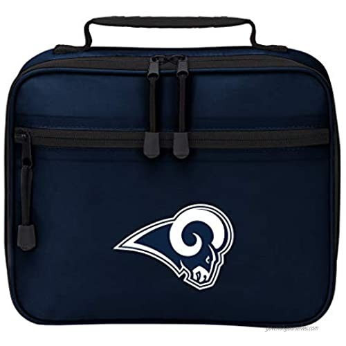"""Officially Licensed NFL """"Cooltime"""" Lunch Kit Bag  10"""" x 3"""" x 8""""  Multi Color"""