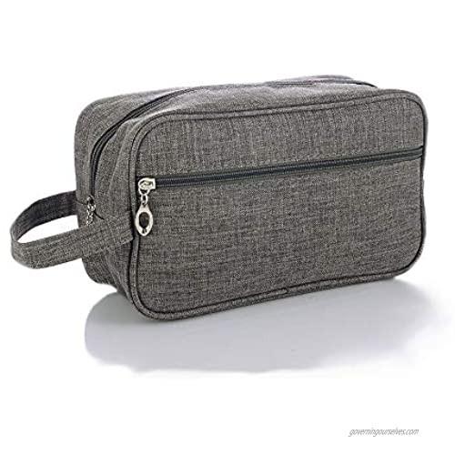 Toiletry Bag for Men Dopp Kit Travel Toiletry Organizer Men's Shaving Bag for Travel Accessories
