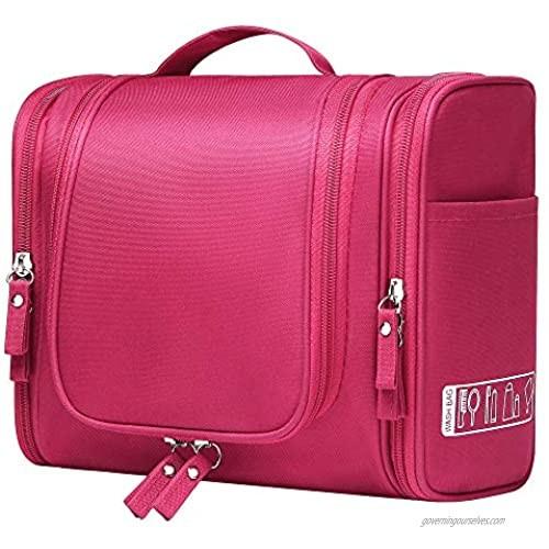 VOCUS Large Capacity Travel Toiletry HandBag Portable Waterproof Bag Makeup Storage Bag for Women or Men