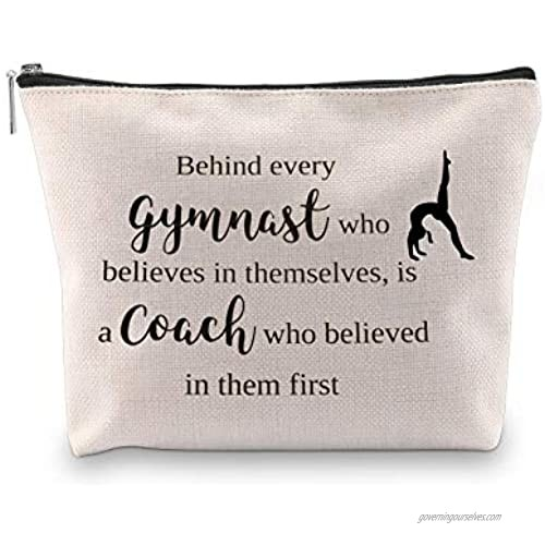 WCGXKO Gymnast Coach Gift Behind Every Gymnast Who Believes Themselves Is A Coach Who Believed In Them First (Gymnast Coach)