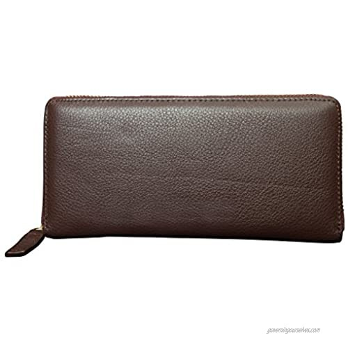 Canyon Outback Leather Marydale Canyon Zip Wallet-Brown  One Size