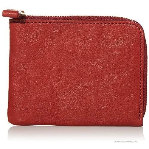 Naniwa Leather Tochigi Leather L Zipper Wallet (M)