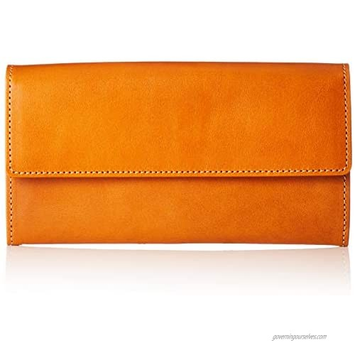 Naniwa Leather Tochigi Leather Long Wallet  Camel  One size