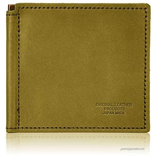 Naniwa Leather Tochigi Leather Slim Wallet Money Clip