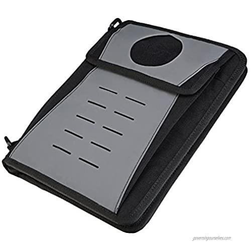 Tactical_Geek Tactical Multifunction Urban EDC Wallet  BlockD 32G Outdoor Big Capacity Wallet   Professional Portable Wallet   Mens Wallet for Ipad and documents   Multicam tacticalgeek (Black)