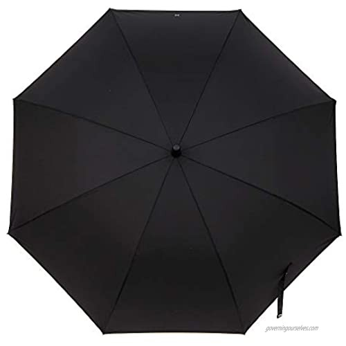 BTS Official licensed Product umbrella. BTS Character long Umbrella_All member characters appear on one piece of umbrella (Black)