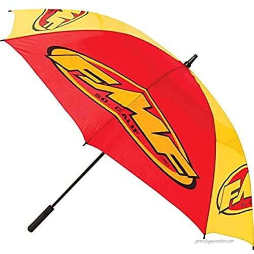 "FMF F14183103 Yellow/Red 60"" Vented Track Umbrella"