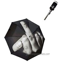 Interesting middle finger umbrella can be folded  light and portable (full of creative gifts)