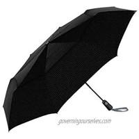 ShedRain Vented Umbrella Automatic Open And Close -Black