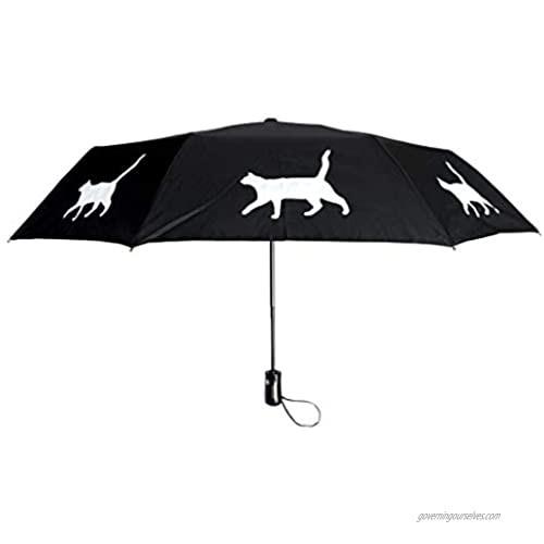 The San Francisco Umbrella Company Open auto Close Foldable  black  One_Size