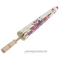 Yencoly Wedding Parasol Thy Collectibles  Decorative Umbrella Paper Umbrellas  for Classical Art Decor Dance