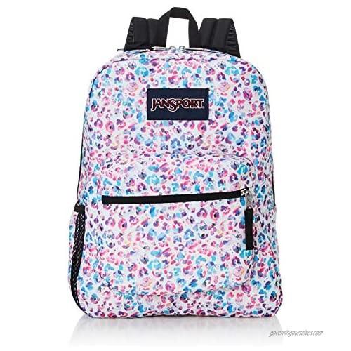JanSport Cross Town Backpack - School  Travel  or Work Bookbag with Water Bottle Pocket