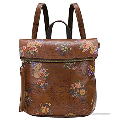 Patricia Nash Luzille English Garden Floral Map Backpack