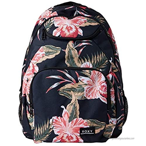 Roxy Junior's Shadow Swell Backpack  anthracite castaway floral  One Size