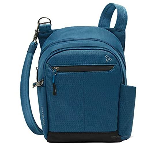 Travelon Anti-Theft Active Tour Bag  Teal  9 x 11 x 3.5