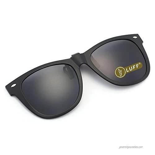 Polarization Clip-On Sunglasses Clips Flip up Myopic Sunglasses for Outdoor …
