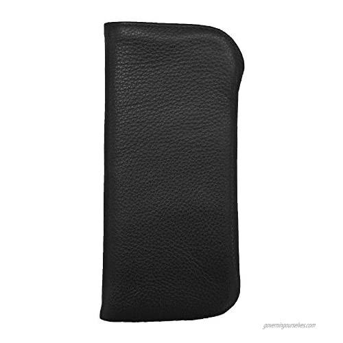 Ili Leather Small Padded Eyeglass Case for Pocket