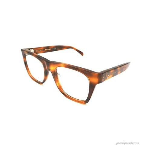 Celine CL50018I - 053 ACETATE Eyeglass Frame Tortoise 49mm