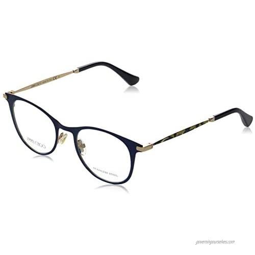 Eyeglasses Jimmy Choo 208 0RCT Matte Blue / 00 Demo Lens