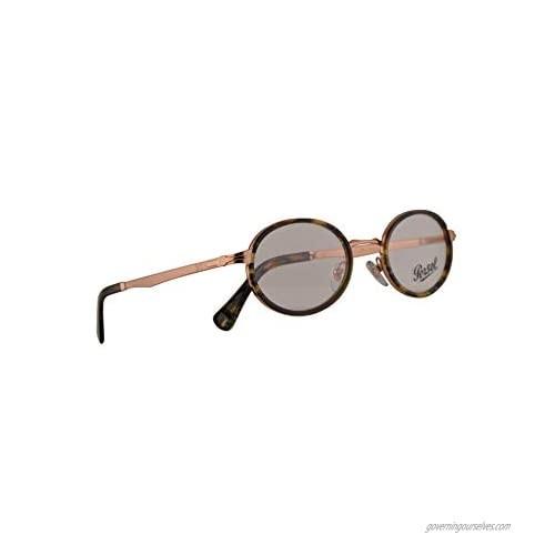 Persol 2452-V Eyeglasses 50-21-145 Bronze Tortoise Brown Green w/Demo Clear Lens 1080 PO 2452V PO2452V PO2452-V