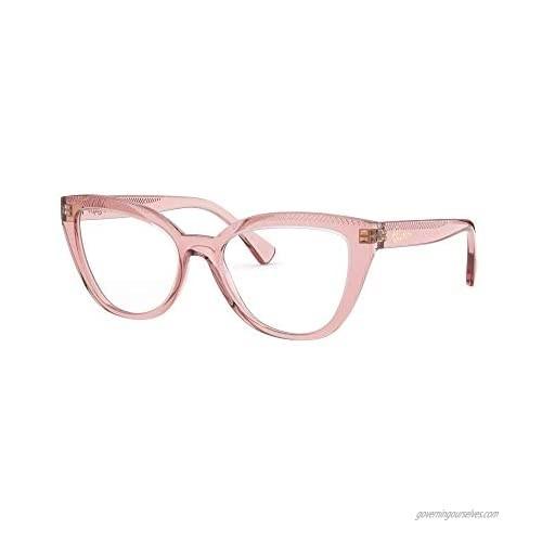 Ralph by Ralph Lauren Women's Ra7112 Cat Eye Prescription Eyewear Frames