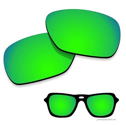 iMaiDein Polarized Sunglasses Lenses Replacement for Costa Del Mar Tuna Alley 100% UV Protection-Variety Colors
