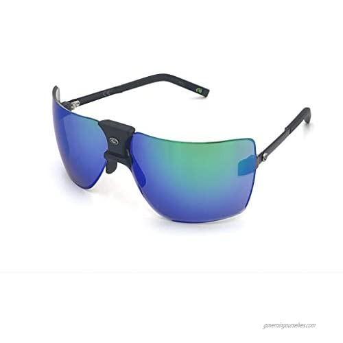 Gargoyles Men's Classic wrap Sunglasses  Matte Black  70mm