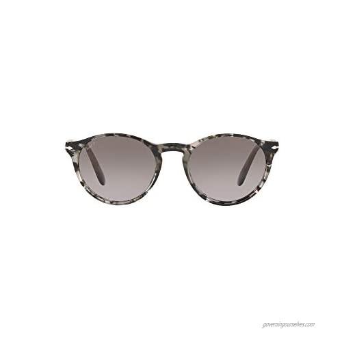 Persol PO3092SM Phantos Sunglasses  Grey Tortoise/Gradient Grey Polarized  50 mm