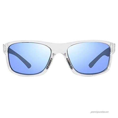 Revo Sunglasses Harness: Polarized Lens Filters UV  Rectangle Sport Wrap Frame