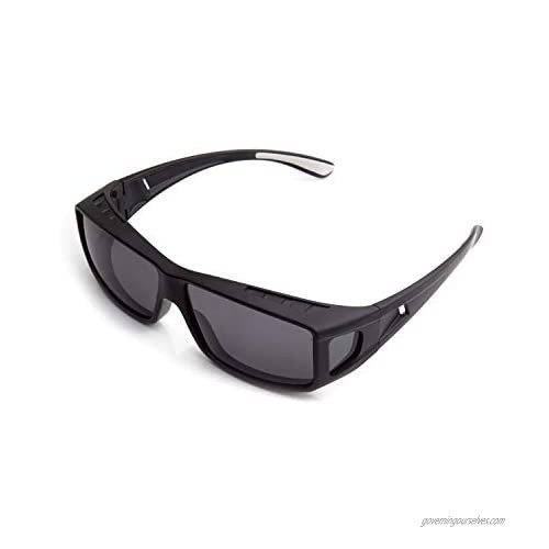 ROAR Fit Over Glasses with Polarized  TAC Lenses  Sunglasses UV Protection.