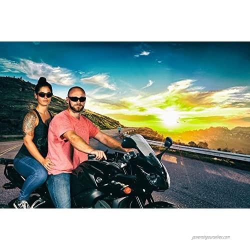 WYND Blocker Polarized Motorcycle & Fishing Floating Sports Wrap Sunglasses