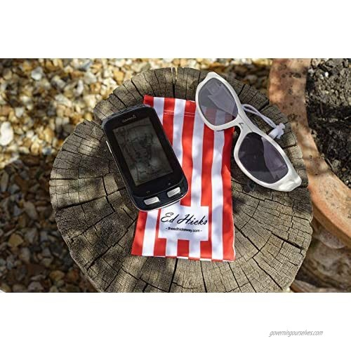 5 Microfiber Sunglasses and Glasses Soft Case Cleaner Storage Pouch & Bag