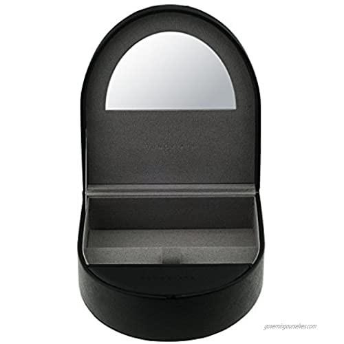 OCCI CHIARI Eyewear Display Case 3 Slot Eyewear Storage Box Eyeglass Organizer Collector Black