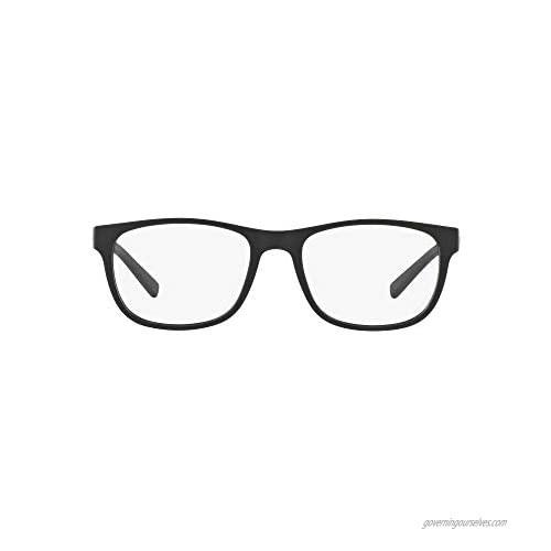 AX Armani Exchange Men's Ax3034 Square Prescription Eyeglass Frames