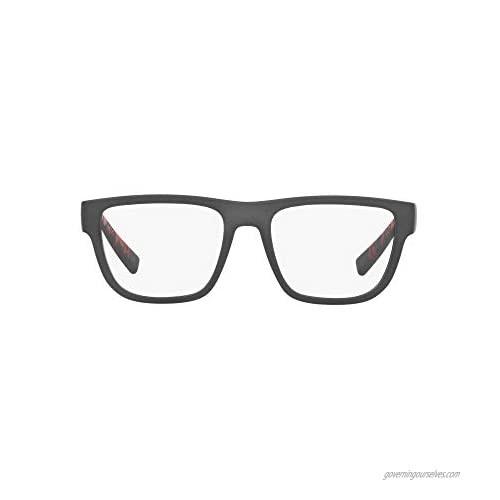 AX Armani Exchange Men's Ax3062 Rectangular Prescription Eyeglass Frames